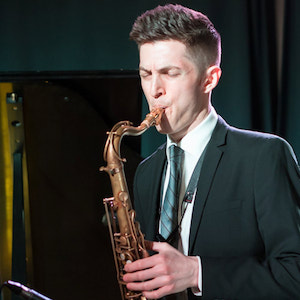 Saxophonist Sam Taylor Quartet from New York City featuring Larry McKenna